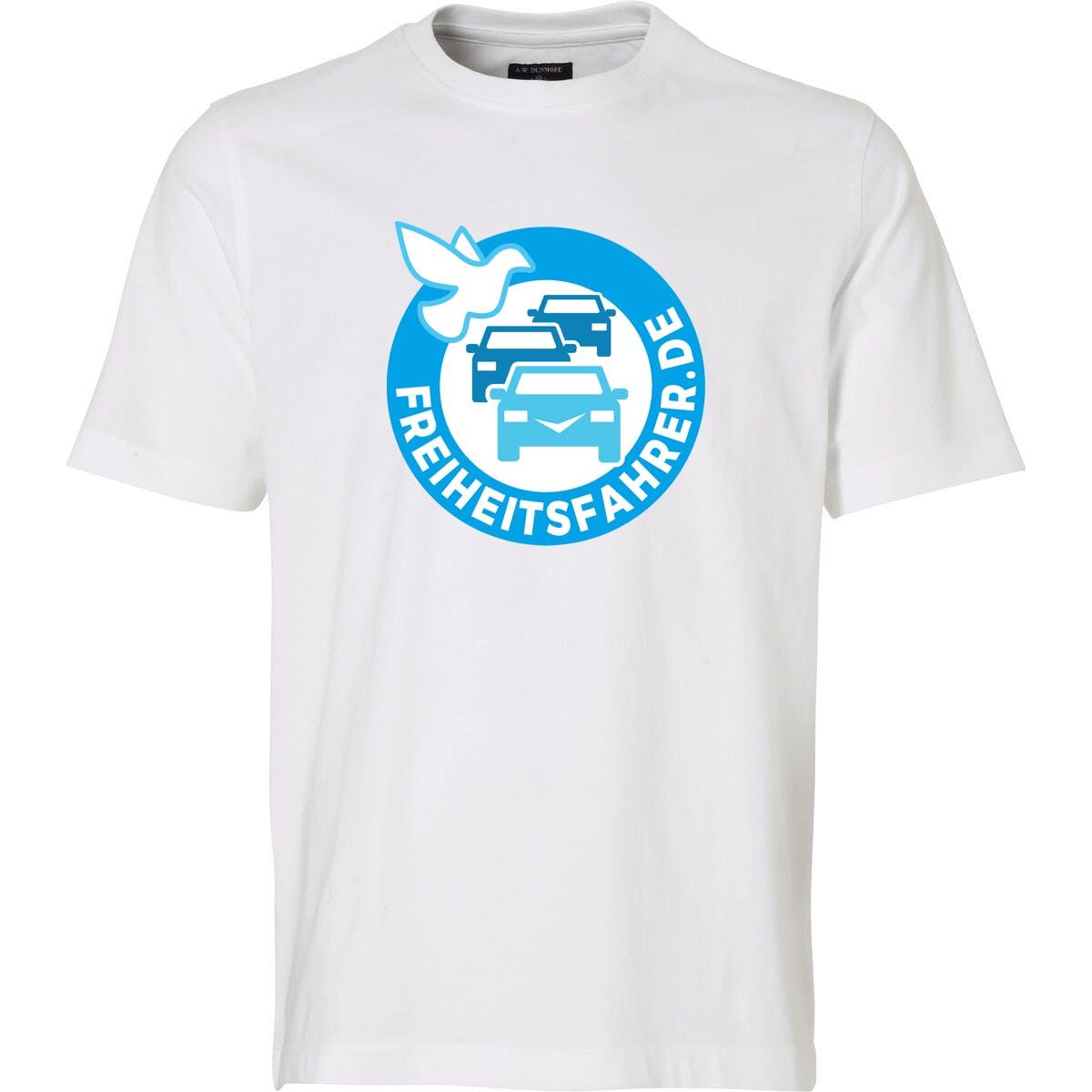 T-Shirt: Freiheitsfahrer