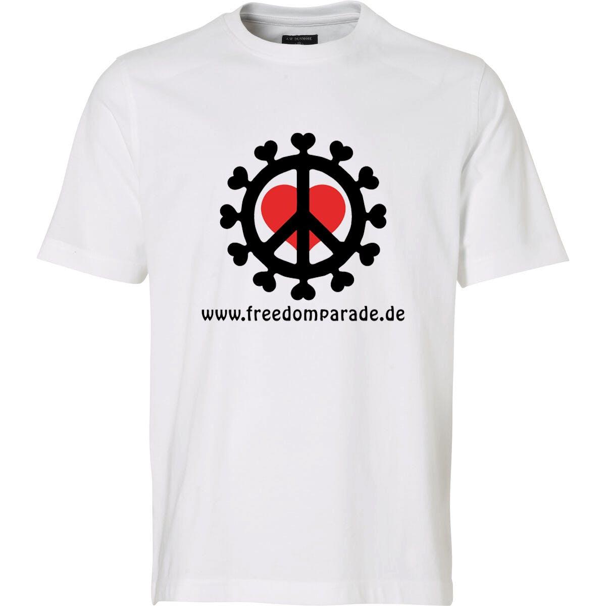 T-Shirt: Freedom Parade mit Domain (Captain Future)