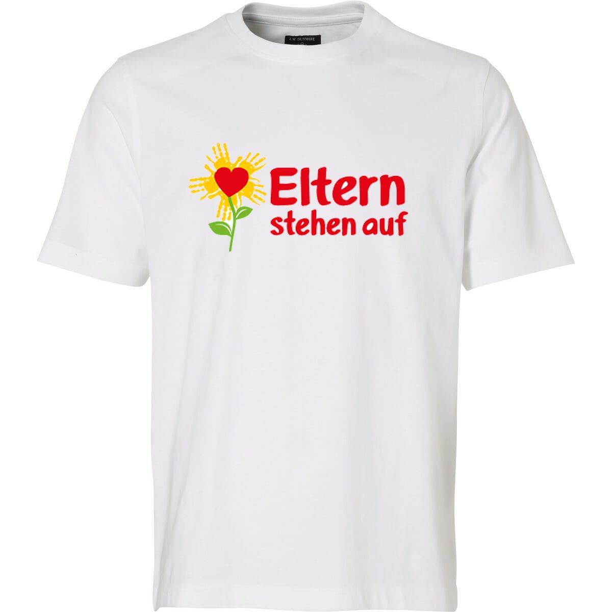 T-Shirt: Eltern stehen auf