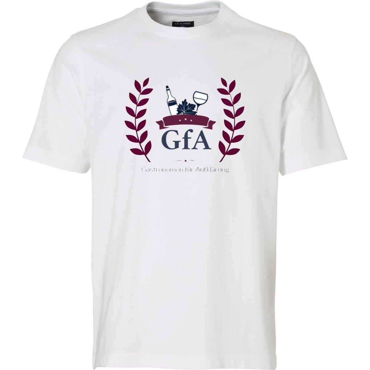 T-Shirt: Gastronomen für Aufklärung